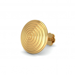 Spiral Gold Nose Stud