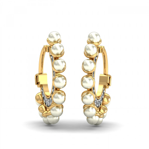 Dream Pearl Hoops