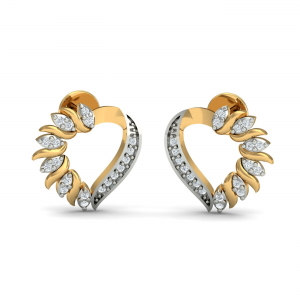 Loving Heart Stud Earrings