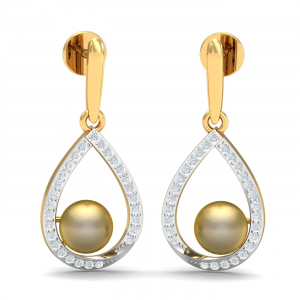 Madeleine Pearl Drop Earrings