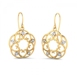 Drussila Filigree Hook Earrings