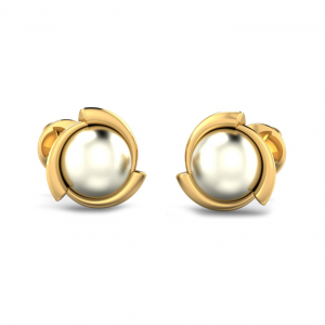 Pearl Emel Earrings