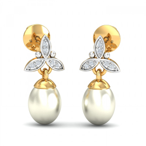 Magdalen Pearl Drop Earrings