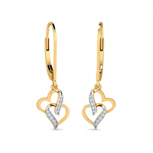 Heartly Hoops Earrings