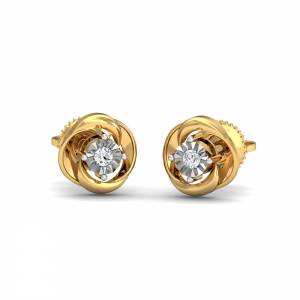 La Illusio Stud Earrings