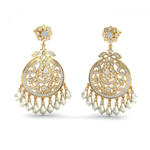 Gulmohar Chand Bali Earrings
