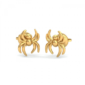 Spider Gold Earrings