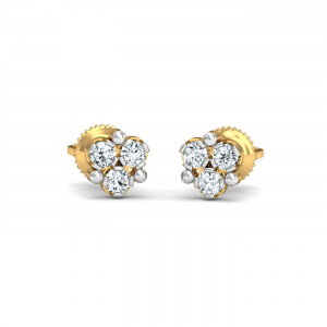Ailani 3-Diamond Earrings