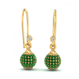 Utsav Emerald Earrings