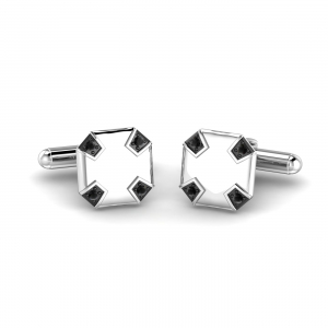 Archard Black Diamond Cufflink
