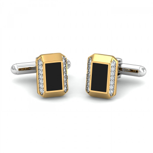 Black Octagon Cufflinks