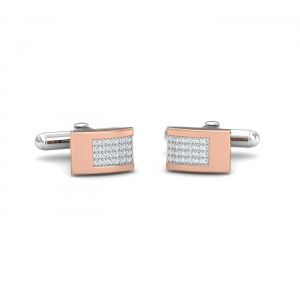 William Rose Gold Cufflinks