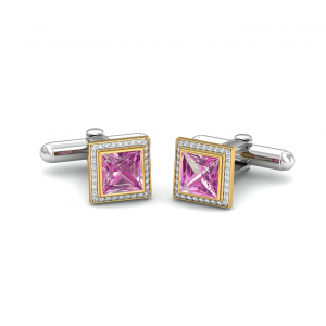 Square Tourmaline Cufflinks
