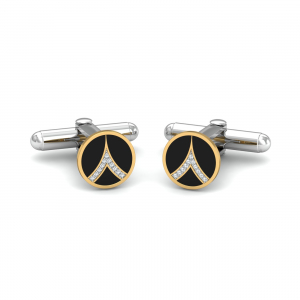 Vertex Round Cufflinks