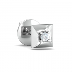 Henri Square Men's Ear Stud