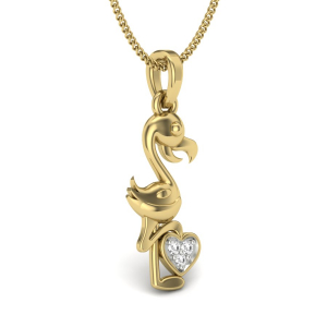 Duck-Love Pendant
