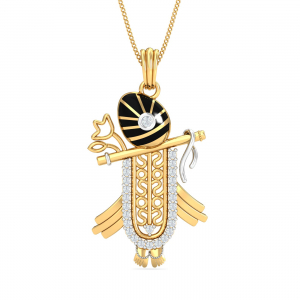 Shrinathji Gold Pendant