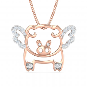 Flying Pig Pendant