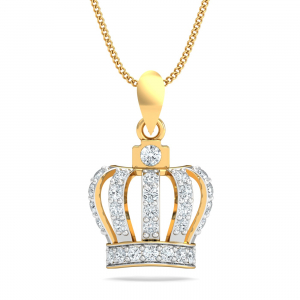 Queen's Crown Pendant