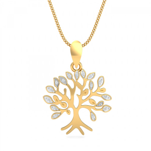 Go-Gold Tree Pendant