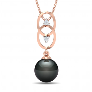 Fairy Black Pearl Pendant