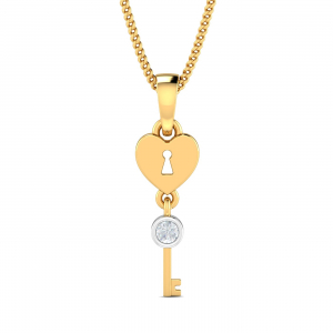 Key-to-my-heart Pendant