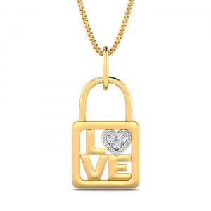 Love Locked Pendant