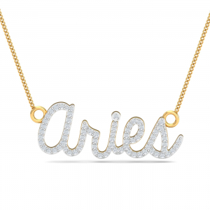 Aries Name Pendant