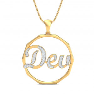 Dev Name Pendant