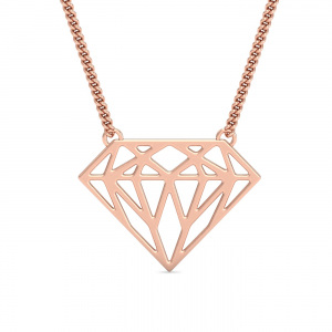 Diamond Outline Pendant