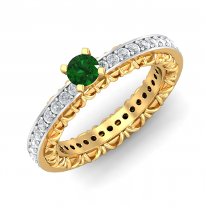 Emerald Embodied Ring