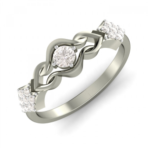 The Charming Solitude Ring