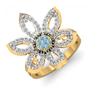 Connive Topaz Blue Ring