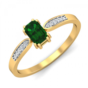 Meridian Emerald Ring