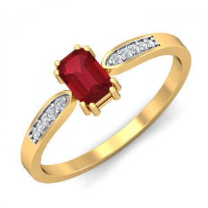 Meridian Ruby Ring