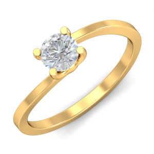 Seul Solitaire Ring