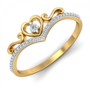 Desirable Heart Ring