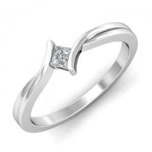 Glow Solitaire Ring