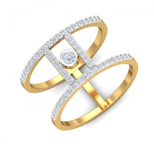 Destiny Solitaire Open Ring
