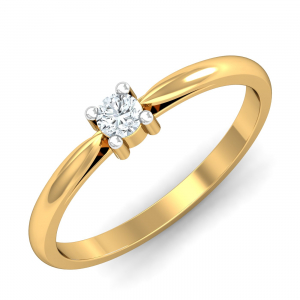 Brilliantly Savvy Solitaire Ring