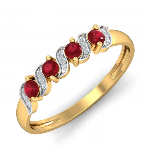 Royal Ruby Band-Ring