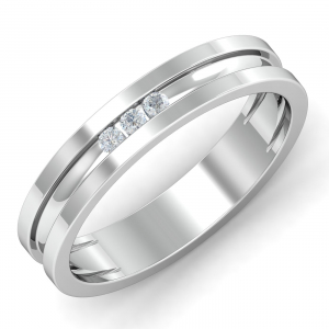 Beau Couple Band For Her