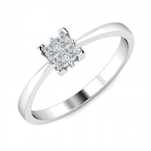 Dolly Solitaire Ring