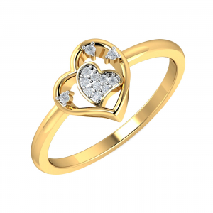 Amy Heart Ring