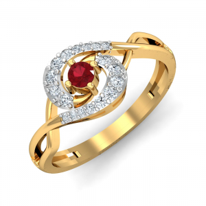 Ribra Ruby Ring