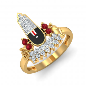 Shrinathji Gold Ring
