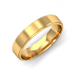 Kanthan Men's Gold Band