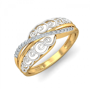 Raje Duo-tone Ring