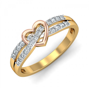 Luv-knot Ring