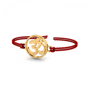 The Aum Gold Rakhi